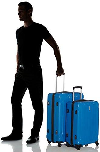 Travelite Koffer Colosso 4-Rad Polypropylen-Trolley L/M, 76 cm 184 Liters Blau 71210-20 - 6