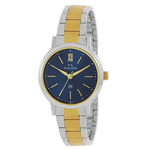 Maxima Analog Blue Dial Women's Watch - 48333CMLT