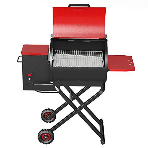 GYH-CHU Combinazione a Doppio combustibile Portatile Griglia per Barbecue all'aperto a Carbone/Gas