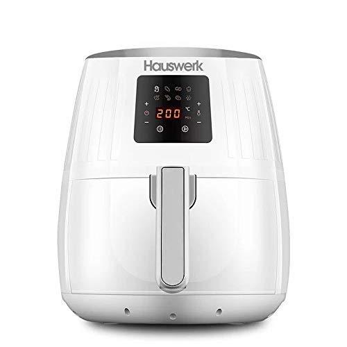 Hauswerk LF1 Airfryer - Friggitrice ad aria calda, display digitale, senza olio, facile da usare e...