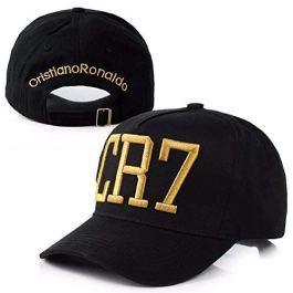 Cristiano Ronaldo CR7 snapback cappelli / berretti (nero con logo giallo)