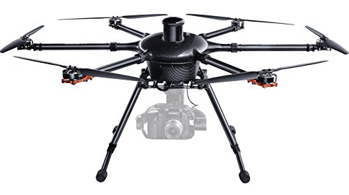 Yuneec Tornado Hexakopter Set inkl. Koffer, 2-Akku, ProAction Grip, ST24 Fernsteuerung, Digital Video Downlink und GB603 Kamera Gimbal für Panasonic GH3/4