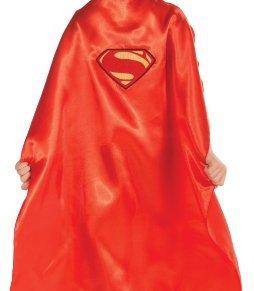 Superman Cape Fancy Dress Man of Steel kids Costume One Size
