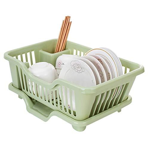 YAN Stendibiancheria in plastica, Portapiatti da Cucina for Piccola Cucina, Scolapiatti da Cucina...