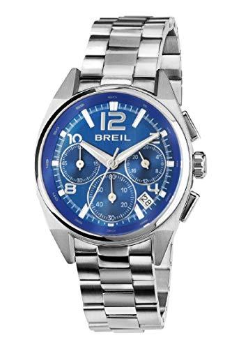 Orologio BREIL donna MASTER quadrante blu e bracciale in acciaio, movimento CHRONO QUARZO