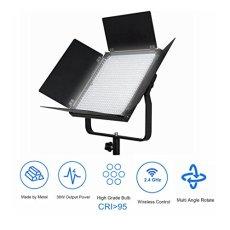PIXEL Profesional inalámbrica LED Video Light 600 CRI95 Plus 4500 LM 3200 o 5600K para fotografía Video Lighting Studio Entrevista Retrato