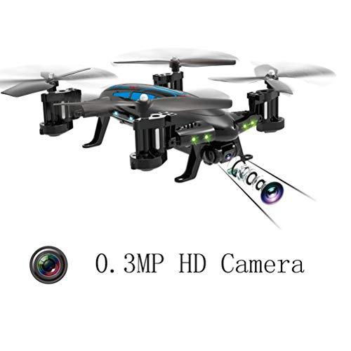 Mallalah RC Drone Voiture 2 en 1Quadricoptère Car Air-Road 2.4G Télécommandé 0.3 MP Caméra WiFi FPV Transmission en Temps Réel Volante Véhic... 25