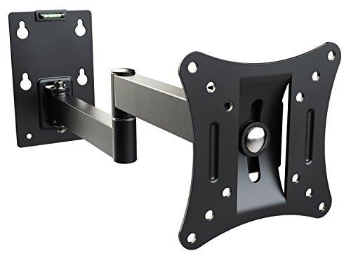 RICOO Supporto per Monitor Montaggio R02-11 Staffa per televisore piatto inclinabile girevole Smart...