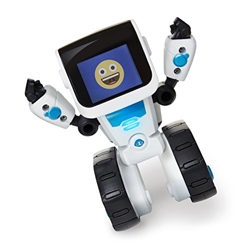 41Ej7qbv5KL - Wow Wee Robot Inteligente Programable, Color Blanco, S (WowWee 0802)