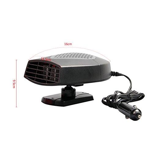 chauffage voiture c ramique ventilateur d givreur portable. Black Bedroom Furniture Sets. Home Design Ideas