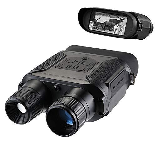 HAIT Visore Notturno Digitale HD Doppio Cilindro infrarosso Telescopio per Visione Notturna Caccia Giorno e Notte a Doppio Uso Collezione di Fan Militare
