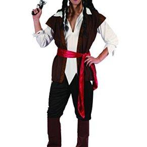 Funtastik - Disfraz de Jack Sparrow para hombre