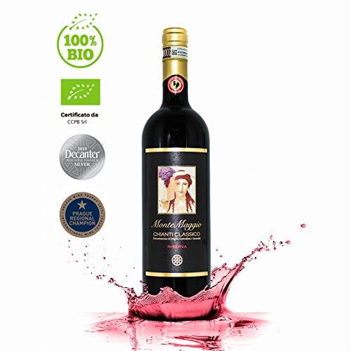Chianti Classico Riserva di Montemaggio - Vino Rosso Toscano Biologico DOCG Gallo Nero - Fattoria di Montemaggio - Annata 2012 - 0.750 L