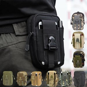 Banggood Outdoor Tactical Waist Fanny Pack Bag Camping Hiking Cycling Belt Wallet Pouch
