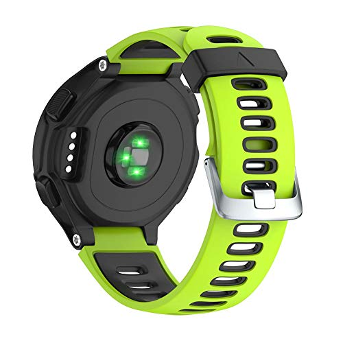 AUTOECHO, cinturino per orologio Garmin 220/230/235/620/630/735XT con ricambio per sport all'aria...