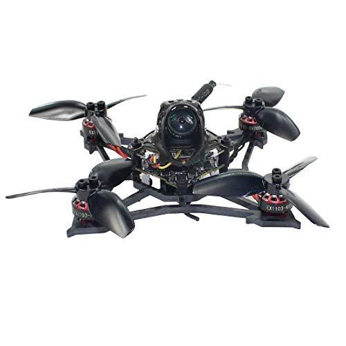 HAPPYMODEL Larva X 2-3S 2.5 Pollici Drone da Corsa FPV Senza spazzole Droni Regolatore di Volo AIO Crazybee F4 PRO V3.0 da 100 mm (External Frsky RXSR Receiver)