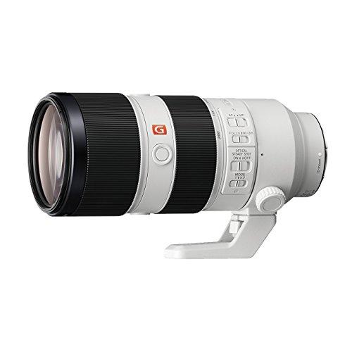 Sony SEL-70200GM G Master Tele-Zoom Objektiv (70-200 mm, F2.8, OSS, Vollformat, geeignet für A7, A6000, A5100, A5000 und Nex Serien, E-Mount) weiß