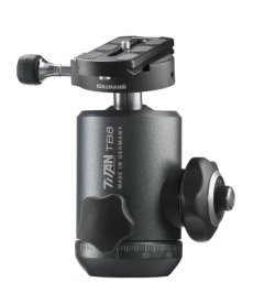 """Cullmann TITAN TB8.6 1/4"""" Ball head Negro cabeza de tripode - Cabeza para trípode (144 mm, 1,13 kg, Aluminio, Negro)"""