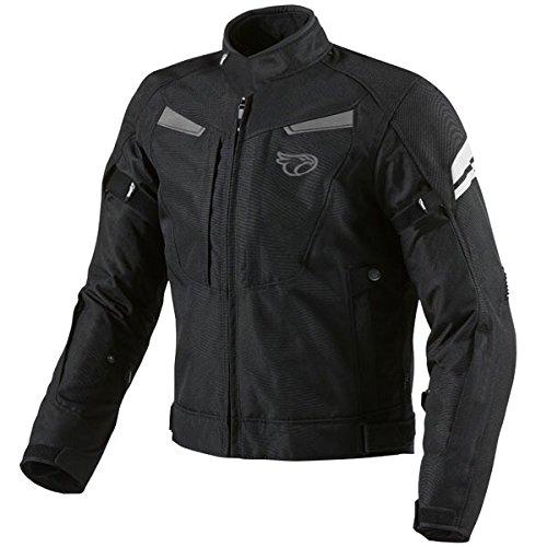 Chaquetas de moto JET impermeable negro