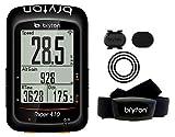 Bryton Rider 410T, Computer GPS Unisex - Adulto, Nero, M