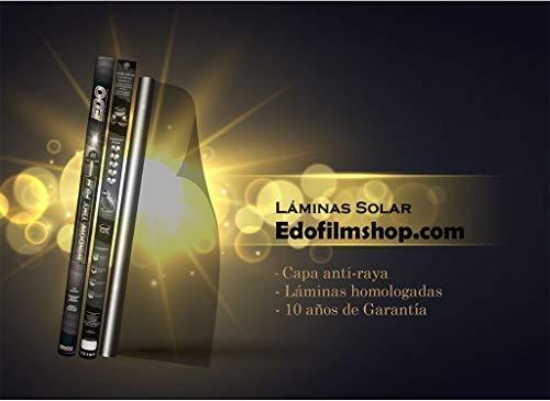 Lámin Solar EdoFilms Super Performance Compatible con Todos los Coches (Lámin Solar EdoFilms 15% Super Performance Compatible con Todos los Coches)