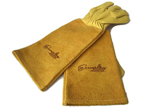 Most thorn proof gloves are made from thick suede and you can't do much in them put pull at branches, these however are a whole different kettle of fish. They really are an exceptional pair of gloves, perfect for roses, brambles, nettles, and pretty much any spiky plants you need to tackle.