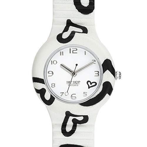 Hip Hop Watches - Orologio da Donna Hip Hop White HWU0905 - Collezione Be Loved - Cinturino in...