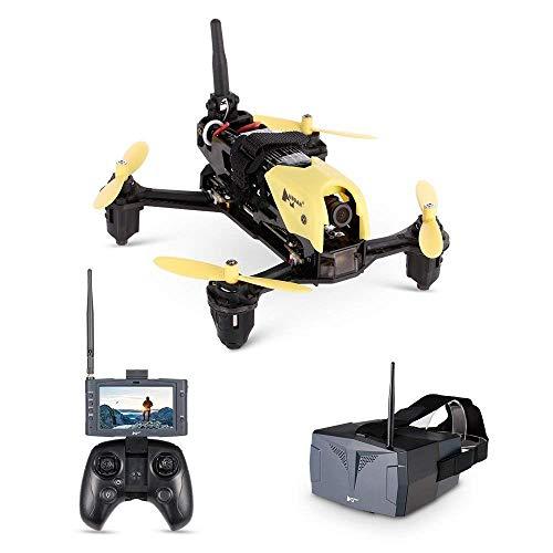 MEETGG Telecamera Drone H122D X4 Storm PRO Racer Droni Quadricotteri 720 Fotocamera 5.8Ghz FPV Monitor Goggle Occhiali da Casco 360 Filps