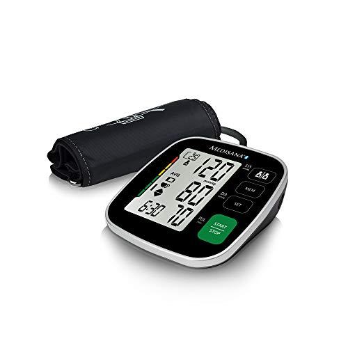 Medisana BU 546 Sfigmomanometro da Braccio Indicatore aritmie, 250 spazi di memoria per ciascuno dei...