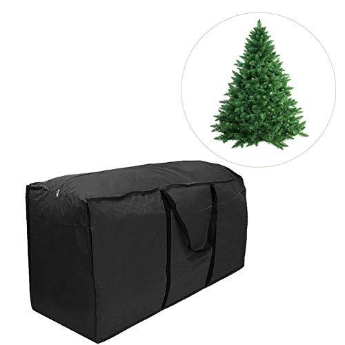 Borsa di Natale,Bloomma Sacchetto di immagazzinaggio del cuscino della mobilia esterna multifunzionale del sacchetto di immagazzinaggio dell'albero di festa del tessuto impermeabile del poliestere con