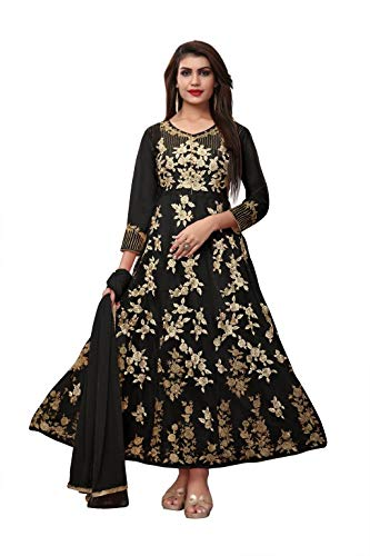 8b5c29c60ac2 AnK Anarkali Kurtis for Women, Heavy Embroidered Semi-Stitched Long ...