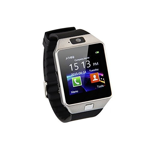 Samsung Galaxy J7 Prime COMPATIBLE BLUETOOTH Smart Watch Phone With Camera  and Sim Card / Memory Cards Support With Apps like Facebook and WhatsApp