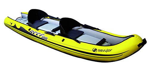 SEVYLOR Bote Inflable, Sit on Top Reef(TM) 300, 300x88 cm, Kayak de mar 2 Personas, Piragua Hinchable