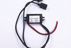 JZK® Voiture Convertisseur de puissance DC 12V à 5V / 3A Tension Convertisseur avec deux connecteurs d'adaptateur USB pour le téléphone charge voiture radio audio etc. Liste de prix