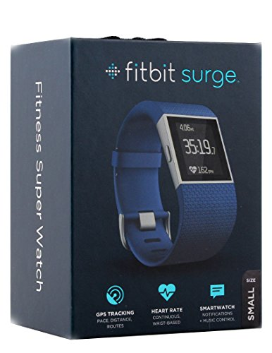 Fitbit Surge Ultimate Fitness Super Watch, Small(Blue)