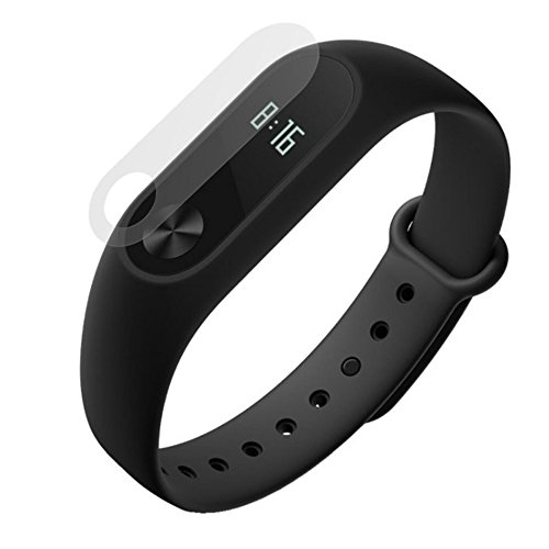 Taslar Premium Front Screen Scratch Guard Protector for Xiaomi MI Band 2 Smart Activity Tracker (Pack Of 2)