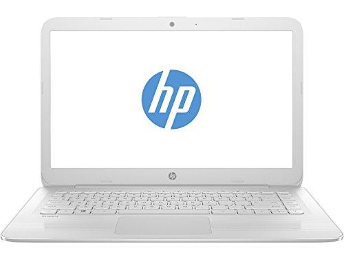 "HP 14-ax003ns Stream - Ordenador portátil español de 14"" HD (Intel Celeron N3060, 4 GB RAM, 32 GB eMMC, Intel HD Graphics 400, Windows 10 + Microsoft Office 365) blanco nieve - Teclado QWERTY Español"