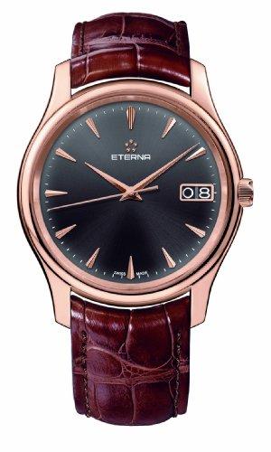 Eterna Vaughan Big Date Uhr, Eterna 3030, Shapir-Glas entspiegelt