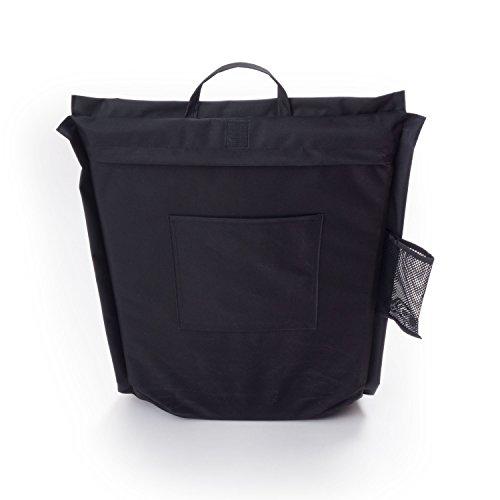Ampel 24 Siège de sol FESTIVAL, chaise de méditation avec dossier réglable | Siège pliable parfait pour l'extèrieur | imperméable | noir 7