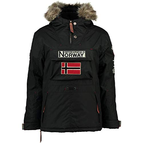 Geographical Norway Parka Bambino Boomerang Nero 14