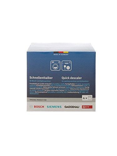Bosch, Siemens, Neff, Gaggenau anticalcare rapido anticalcare per lavatrici e lavastoviglie