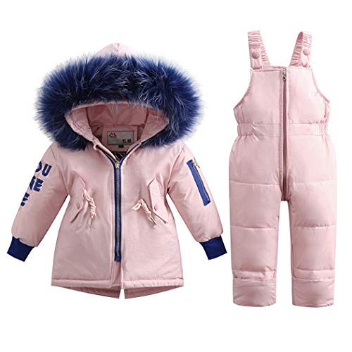 Premewish Tuta da Sci per Bambino Giacca Bambina Snowsuit,Unisex Piumino Bambino Caldo Invernale,1-3...