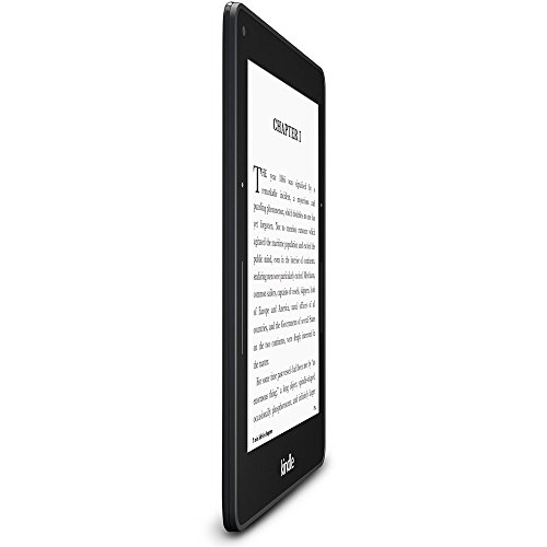 """Kindle Voyage Wifi - 6"""" High-Resolution Display (300 ppi) with Adaptive Built-in Light and PagePress Sensors 4  Kindle Voyage Wifi – 6″ High-Resolution Display (300 ppi) with Adaptive Built-in Light and PagePress Sensors 41GHPa WLgL"""