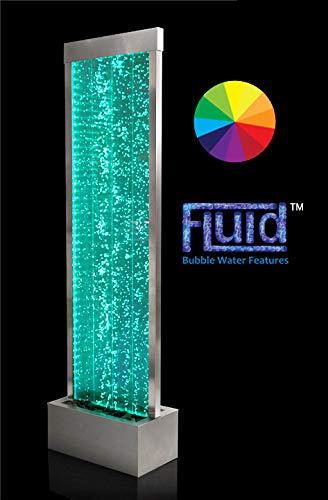 Fontane a parete d'acqua con le bollicine e luci LED - 1.84M