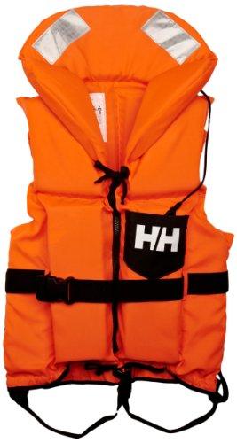Helly Hansen Navigare Comfort, Salvagente Unisex-Adulto, 210 Fluor Orange, 60/90 kg