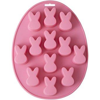 Wilton-Silikonform-aus-Mini-Kaninchen-zur-Erstellung-von-sen-Mini-Kaninchen-Leckereien-Mini-Kuchen-und-Torten-besonders-schn-fr-Ostern-23x3-cm
