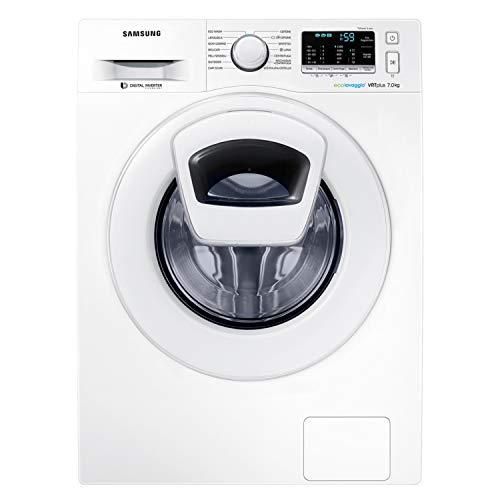 Samsung WW70K5210XW/ET AddWash Lavatrice, 7 kg, 1200 Rpm, Bianco