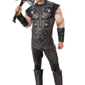 Marvel Infinity War Adult Deluxe Thor Fancy Dress Costume X-Large