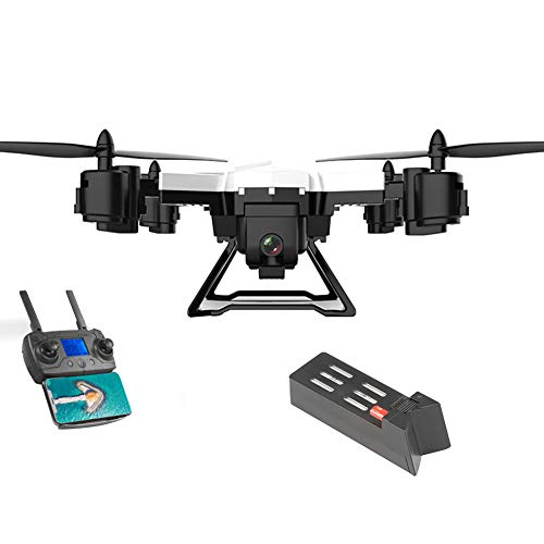 KY601G RC Elicottero GPS Drone 2.4 GHz a 6 Assi giroscopio 4 canali Quadcopter WiFi FPV Drone con videocamera 4K HD, Controllo App/gesti Foto, One Key Return, Video Live Compatibile for VR Headset