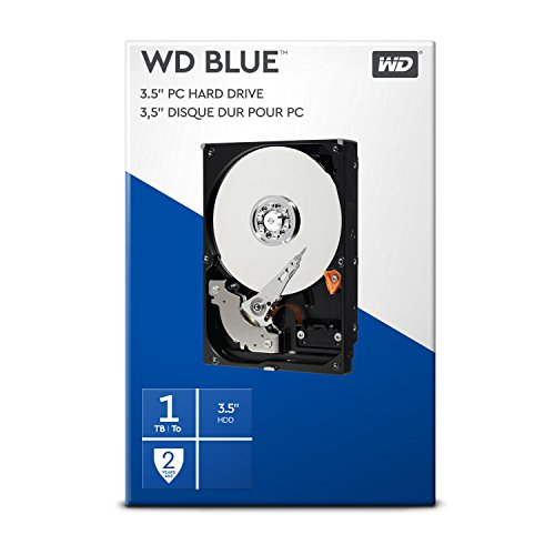Western Digital WDBH2D0010HNC HDD Interno 1000 GB, SATA III, 3000 mbit/s, 7200 rpm, 64 MB, 3.50...